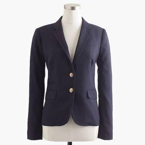 J. Crew Classic Schoolboy Navy Blazer Size 12